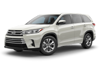 Toyota Highlander LE Trim Features & Options