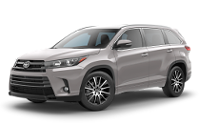 Toyota Highlander SE Trim Features & Options