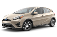 Toyota Prius c Four Trim Features & Options