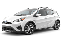 Toyota Prius c One Trim Features & Options