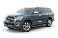 Toyota Sequoia Limited Trim Features & Options