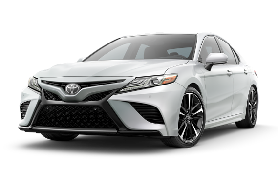 featuring the model - 2018 Toyota Camry hybrid