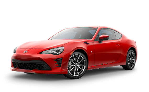 featuring the model - 2018 toyota 86