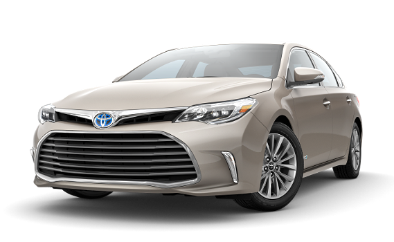 featuring the model - 2018 toyota avalon hybrid-
