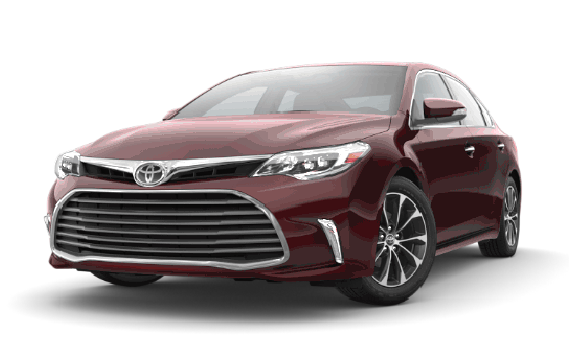 featuring the model - 2018 toyota avalon