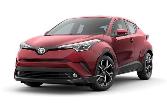 featuring the model - 2018 toyota c-hr