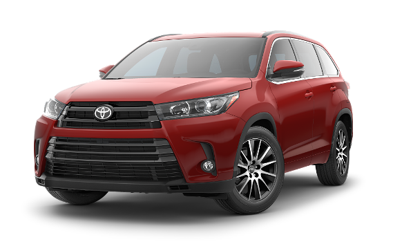 featuring the model - 2018 toyota highlander hybrid