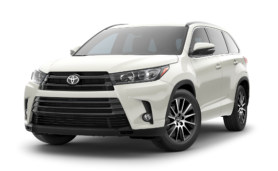 featuring the model - 2018 toyota highlander