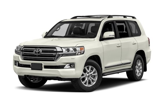 featuring the model - 2018 toyota land cruiser