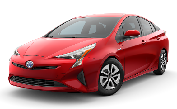 featuring the model - 2018 toyota prius