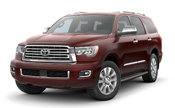 featuring the model - 2018 toyota sequoia