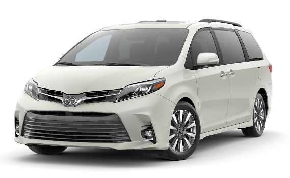 featuring the model - 2018 toyota sienna