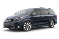 Toyota Sienna Limited Trim Features & Options