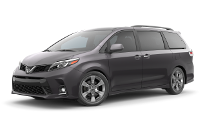 Toyota Sienna SE Trim Features & Options