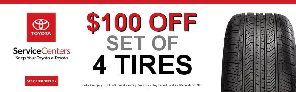 toyota tire specials coupon