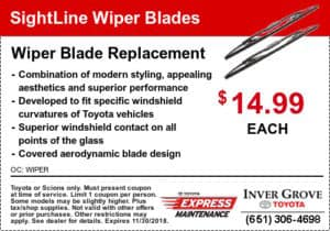 toyota-sightline-wiper-blades coupon