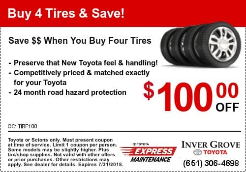 toyota tire coupon