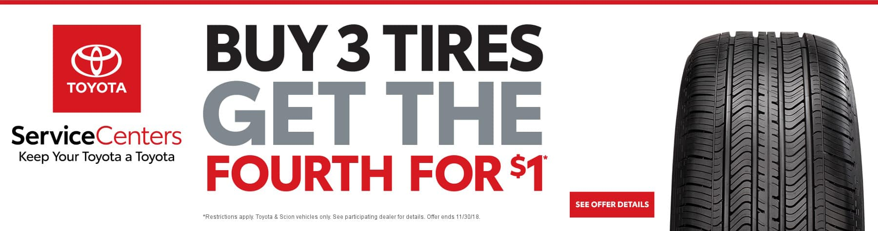 toyota tire service special