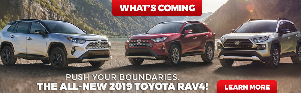 2019 RAV4 Coming Soon