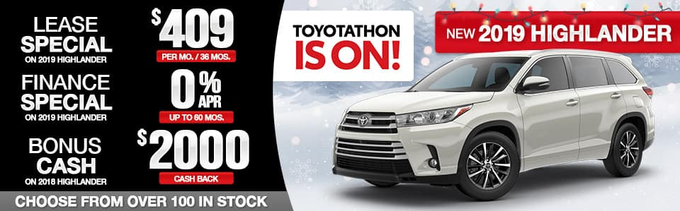 Toyota-Toyotathon-Highlander-Specials