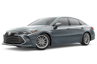 2019 Avalon Limited Trim Model Features - Options