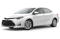 2019 Corolla XLE Trim Model Features - Options
