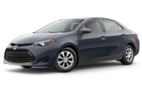 2019 Corolla L Trim Model Features - Options