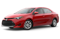 2019 Corolla LE Trim Model Features - Options