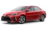 2019 Corolla SE 6MT Trim Model Features - Options