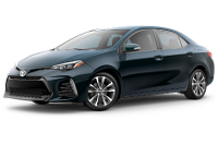 2019 Corolla SE Trim Model Features - Options