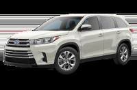 Toyota Highlander Hybrid LE Model Trim Features - Options