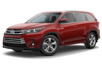 Toyota Highlander Hybrid Limited Model Trim Features - Options