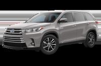 Toyota Highlander Hybrid XLE Model Trim Features - Options