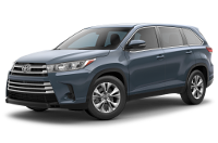 Toyota Highlander LE Model Trim Features - Options