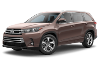 Toyota Highlander Limited Model Trim Features - Options