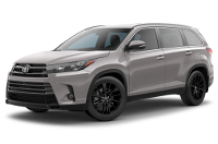 Toyota Highlander SE Model Trim Features - Options