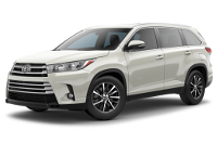 Toyota Highlander XLE Model Trim Features - Options