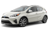 Toyota Prius c LE Model Trim Features - Options