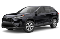 Toyota RAV4 LE Trim View - Features & Options