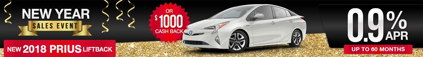 2018 Prius Finance Special