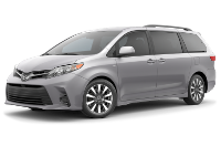 Toyota Sienna LE Trim Features & Options