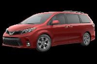 Toyota Sienna SE Premium Trim Features & Options