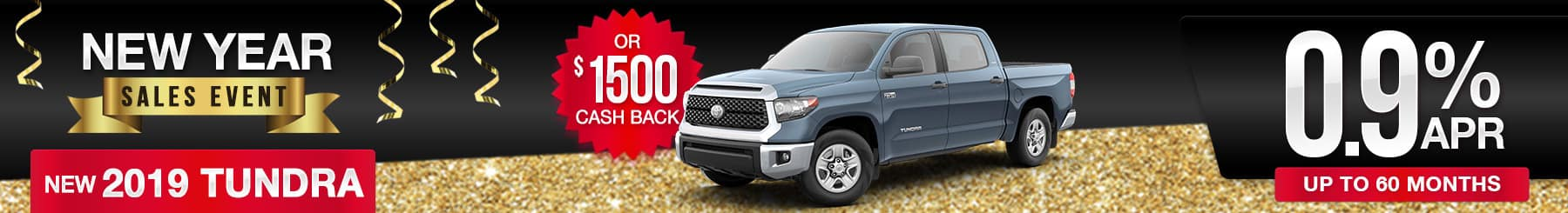 2019 Tundra Sales Deal