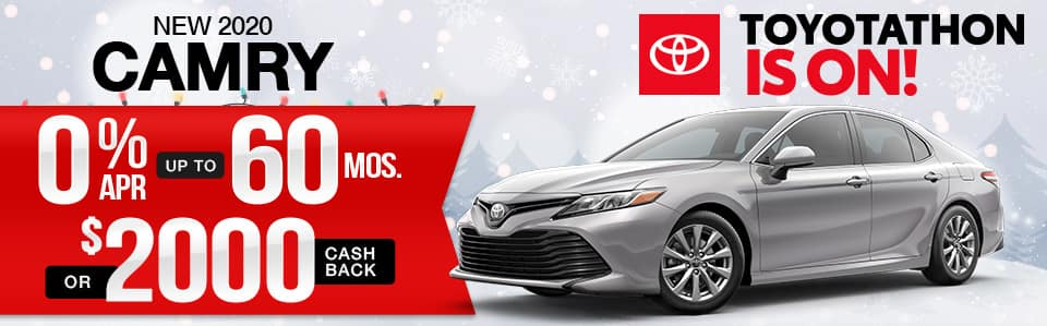 New 2020 Toyota Camry Finance Special