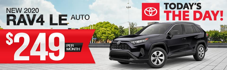 New 2020 Toyota RAV4 Lease Special