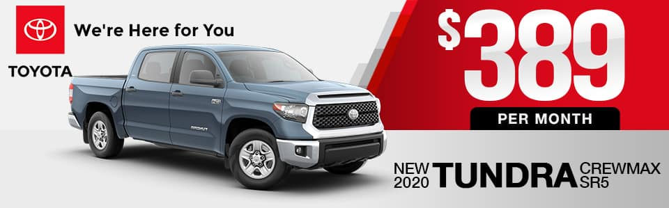 New 2020 Toyota Tundra Lease Special