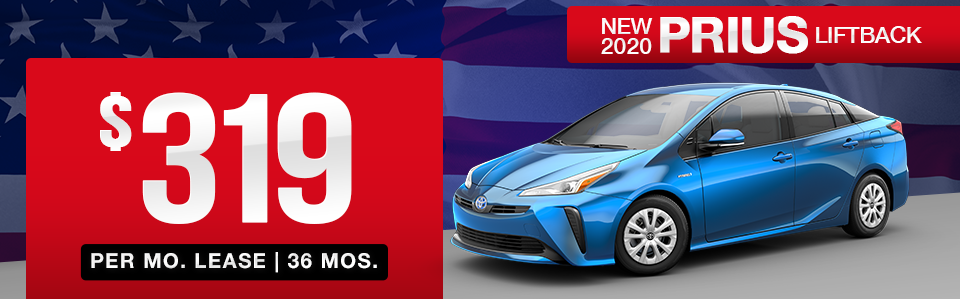 New 2020 Toyota Prius Lease Special