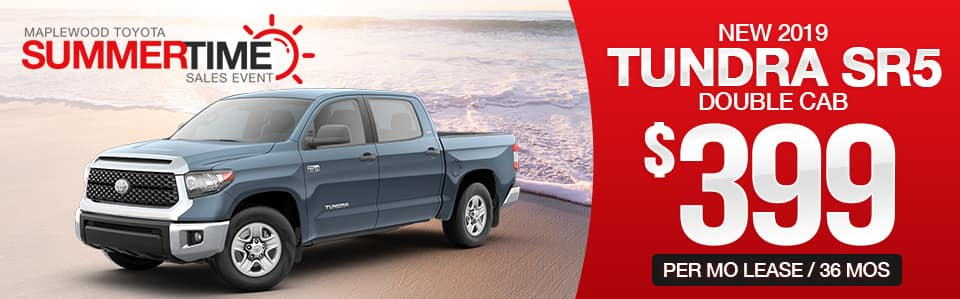 New 2019 Toyota Tundra Lease Special