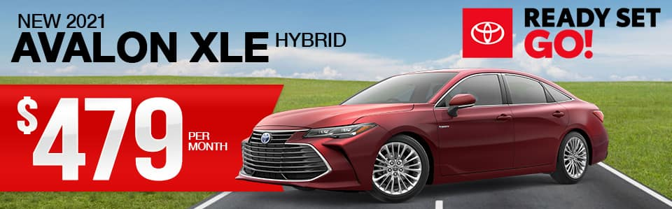 New 2021 Avalon Hybrid Lease Special