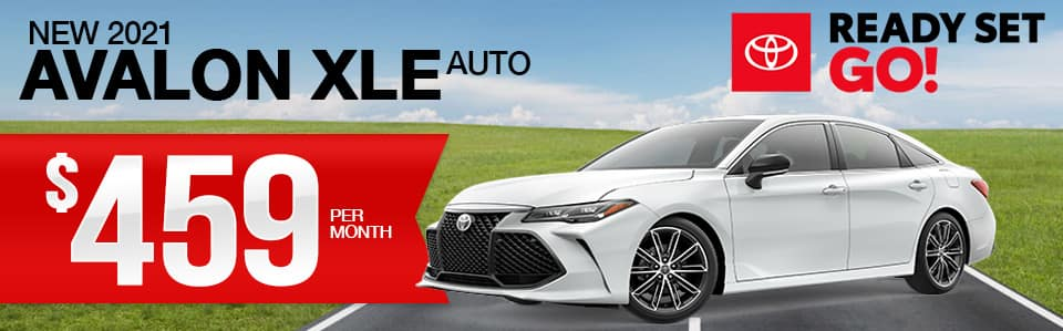 New 2021 Avalon Lease Special